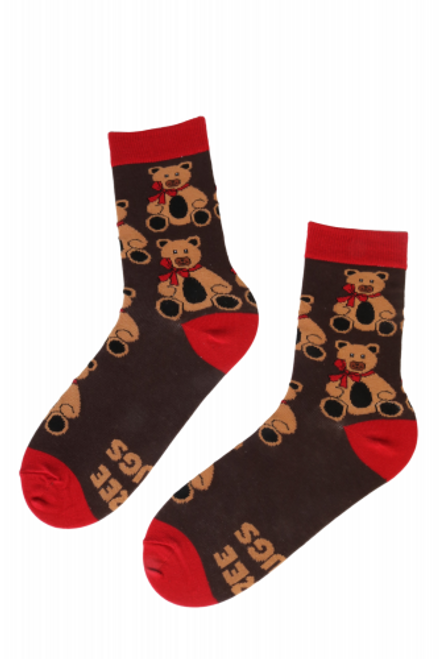 men and Women's Teddy bear Socks  sokisahtel