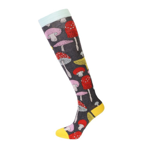 Women's Mushroom Socks (Pair) Knee-High Socks