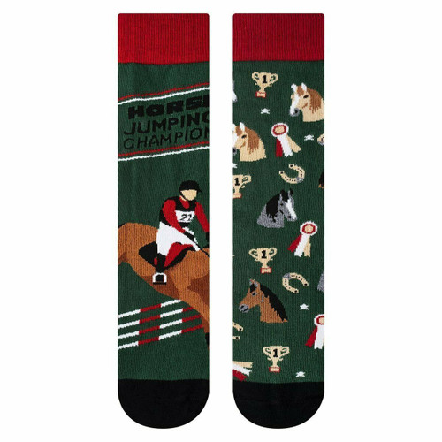 Womens Horse Socks (Pair) Novelty Horse Riding Socks