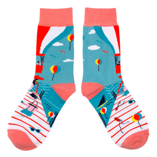 Womens Holiday theme Socks - fun novelty womens socks