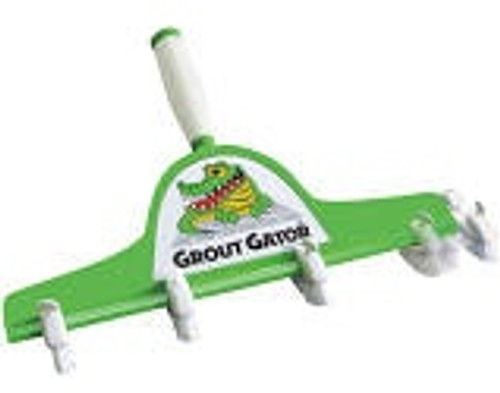 Grout Gator Floor Tool and Pole