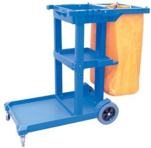 Janitors Cart With Bag
