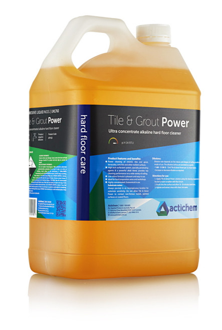 Tile & Grout Restore (Removes Stains, Limescale, Grout Smear) 5Ltr