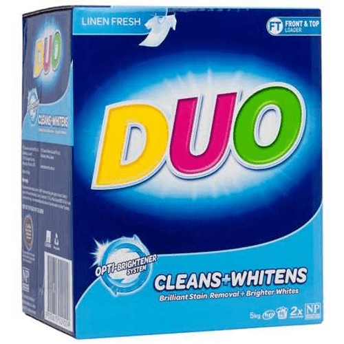Laundry Powder Duo Top and Front Loader 5kg