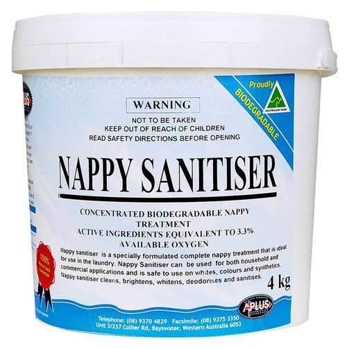 Nappy Sanitiser 4kg (Brightens / whitens and deodorises)