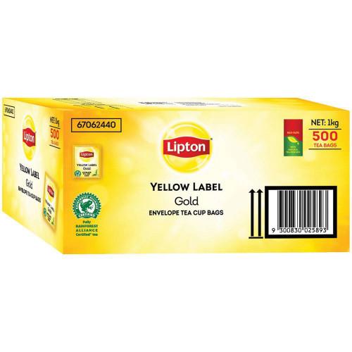Lipton Tea Bags Envelope Foil Tear 1 x 500