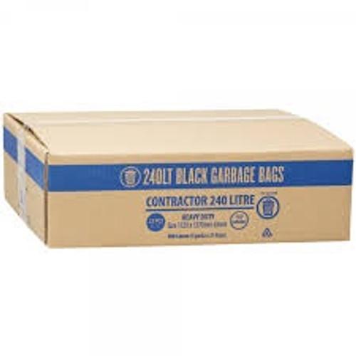 Bin Liner 240ltr Rolls Carton - 100