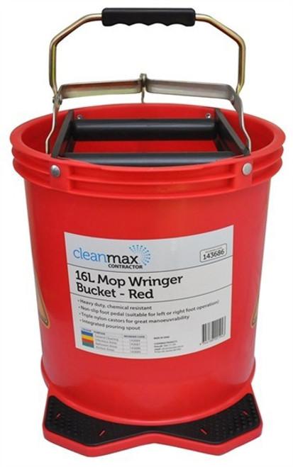 Mop Bucket 16ltr (Red)