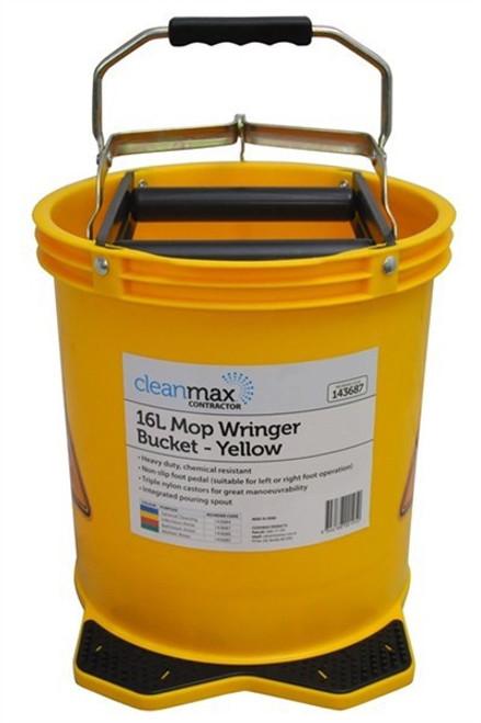 Mop Bucket 16Ltr (Yellow)