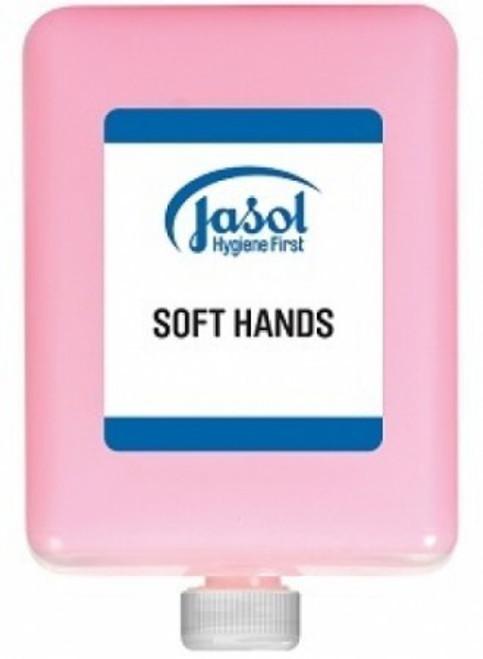 Hand Soap Soft Hands (Jasol) 6 x 1Ltr