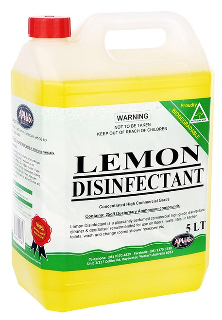 Lemon  mop floors / spray & wipe