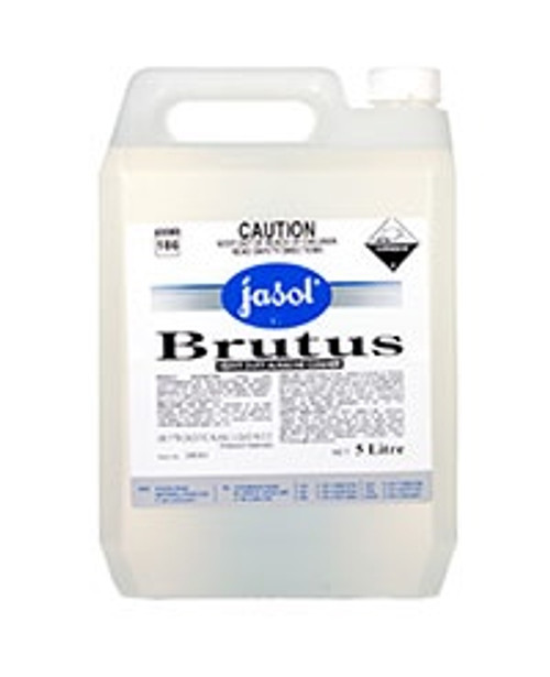 Brutus Heavy Duty Degreaser Kitchen Processing Areas, Concrete Floors, Boat Decks 5Ltr