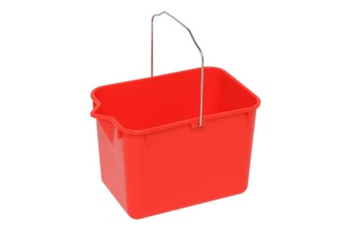 Bucket (Square) Red