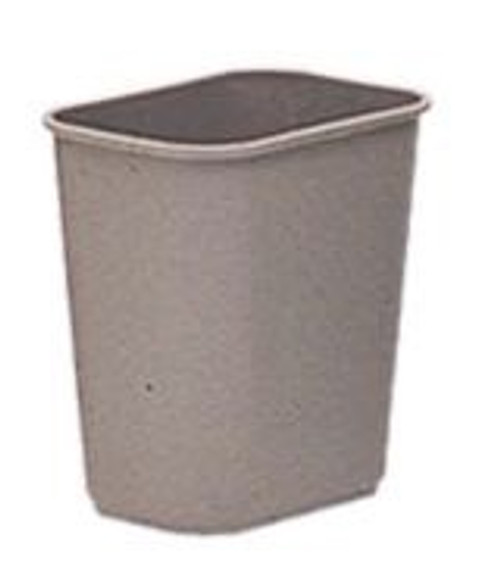 27L Grey Office Bin