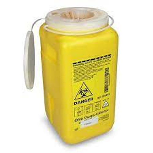 Sharps Disposal Container 1.4Ltr