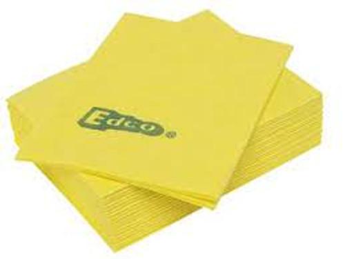 Merritex Viscose Cloths 1 x 10 Pk (Yellow)