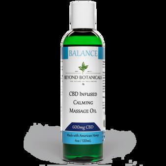 CBD Massage Oil - Balance - 600mg