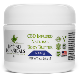 CBD Natural Body Butter - 600mg