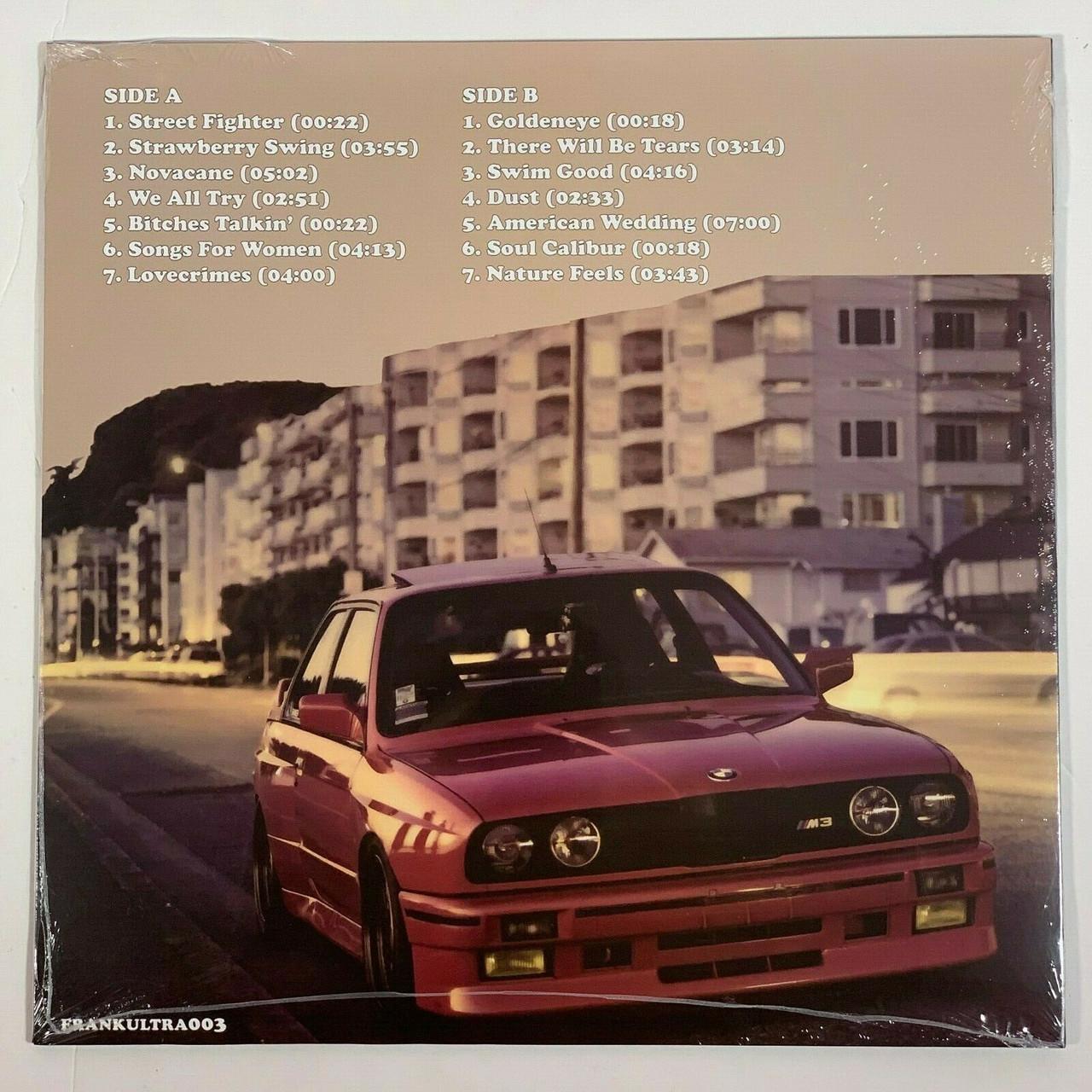 "Frank Ocean Nostalgia, Ultra 10LP Vinyl Limited Orange 102"" Record"