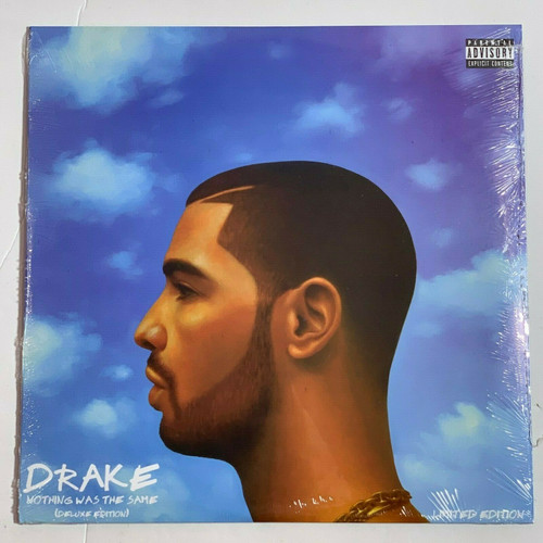 "Drake Nothing Was The Same 2LP Vinyl Limited Blue 12"" Record"