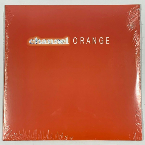 "Frank Ocean Channel Orange 2LP Vinyl Limited Orange 12"" Record"