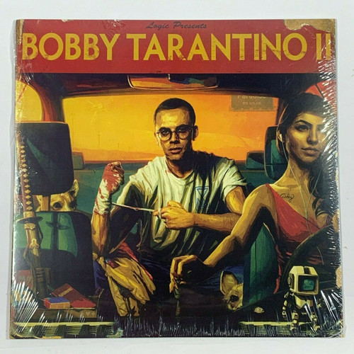 "Logic Bobby Tarantino II 1LP Vinyl Limited Black 12"" Record"