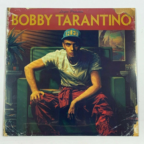 "Logic Bobby Tarantino 1LP Vinyl Limited Black 12"" Record"