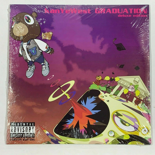 "Kanye West Graduation 2LP Vinyl Limited Purple 12"" Record"