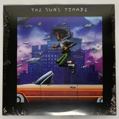 "Isaiah Rashad The Sun's Tirade 2LP Vinyl Limited Black 12"" Record"