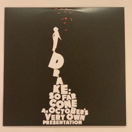 "Drake So Far Gone 2LP Vinyl Limited Black 12"" Record"