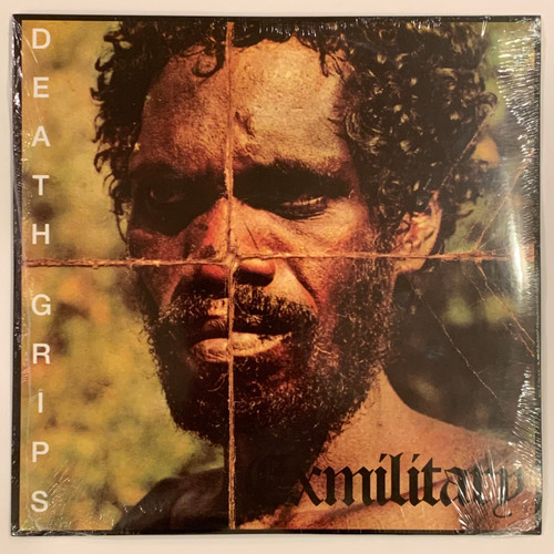 """Death Grips Exmilitary 2LP Vinyl Limited Black 12"""" Record"""