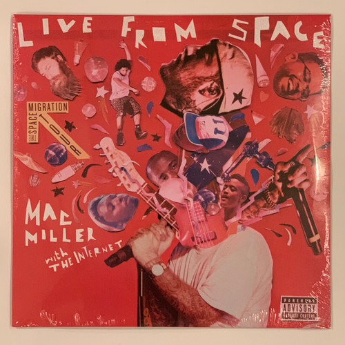 """Mac Miller Live From Space 2LP Vinyl Limited Black 12"""" Record"""