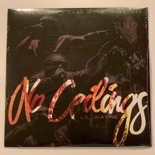 "Lil Wayne No Ceilings 2LP Vinyl Limited Black 12"" Record"