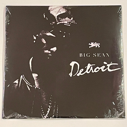 "Big Sean Detroit 2LP Vinyl Limited Black 12"" Record"