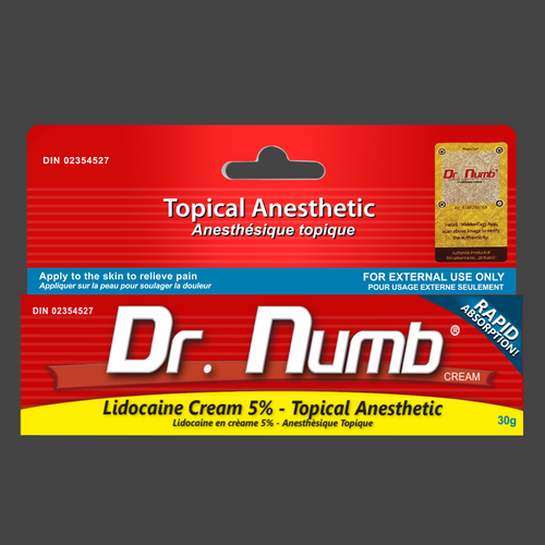 1 Tube of Dr. Numb