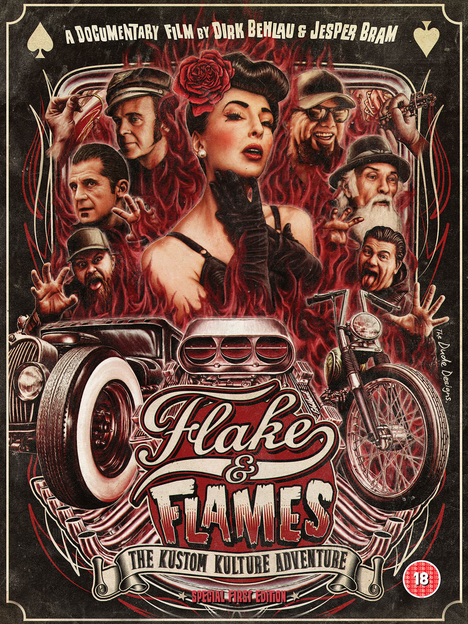 Flake and Flames (full movie download) in HD
