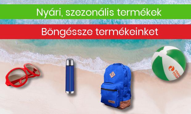 nyár reklámajándék strand szabadidő