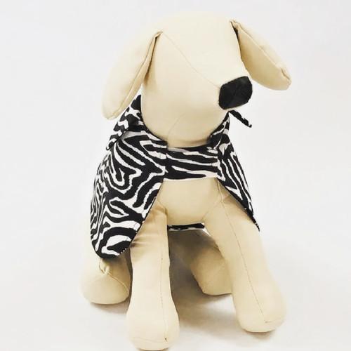 Faux Zebra Print Cape Costume