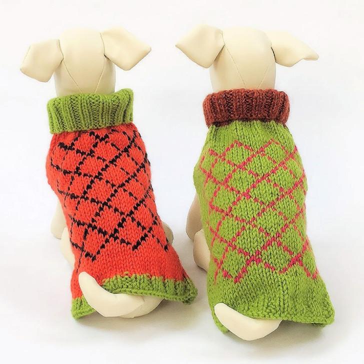 Autumn Argyle Sweaters