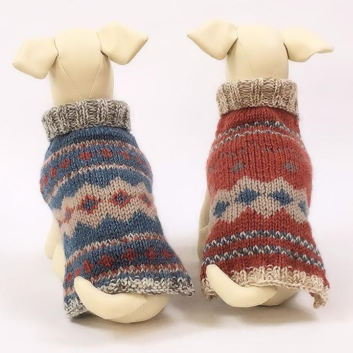 Multi-Print Fair Isle Sweaters