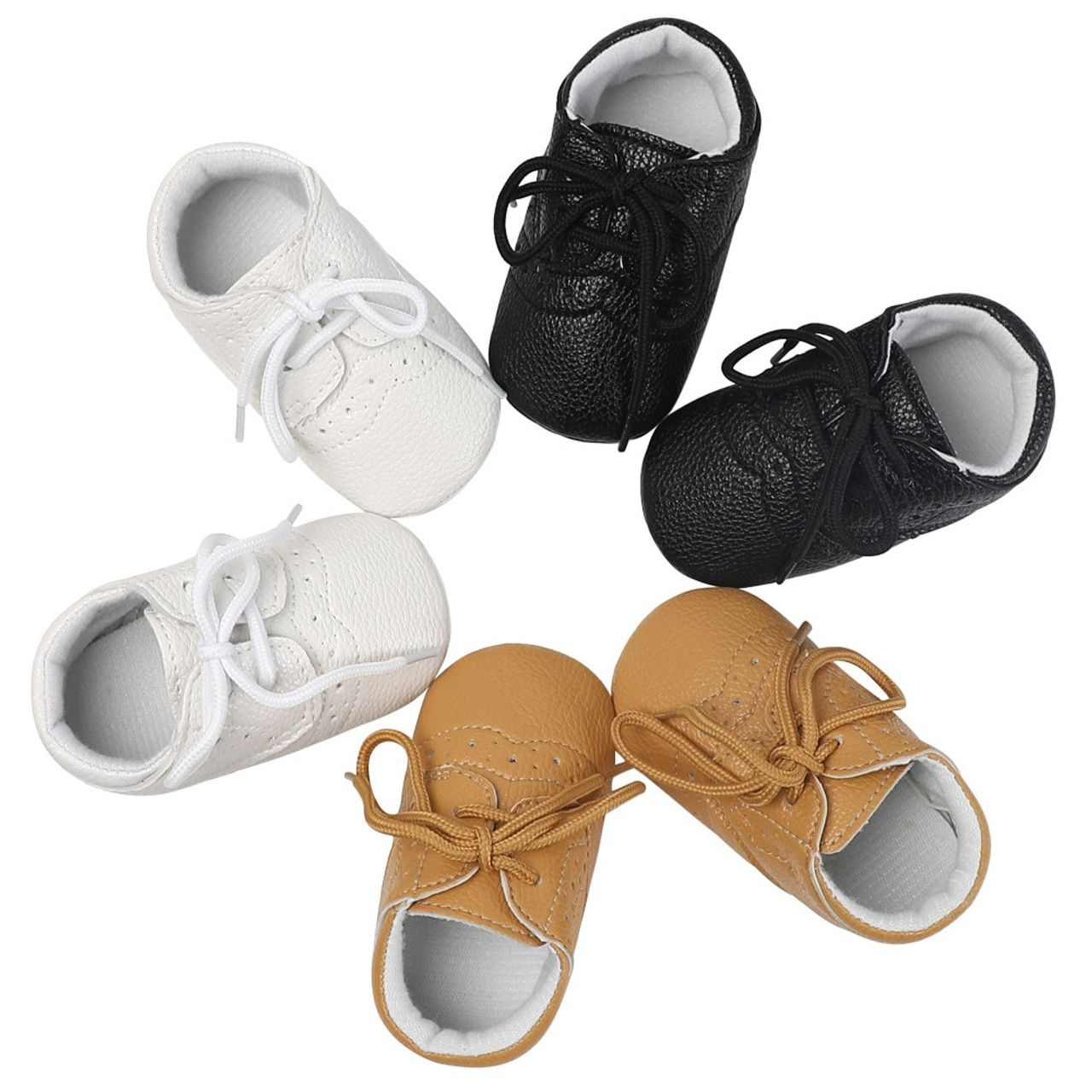 Newborn Baby Boy Girl Moccasins Shoes