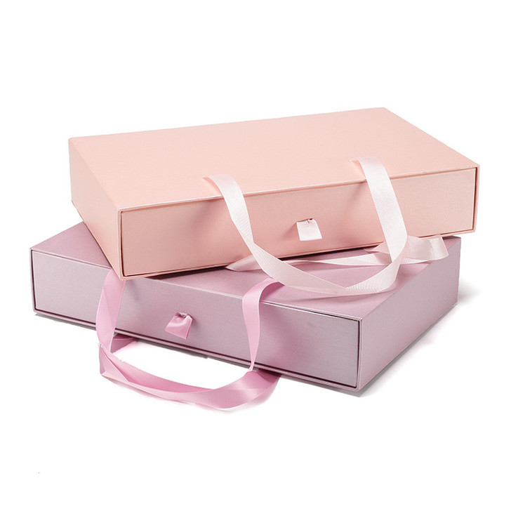 Satin Handle Pullout Drawer Gift Box