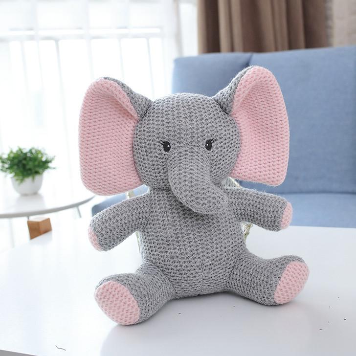 Baby grey Elephant Plush Toy 23cm