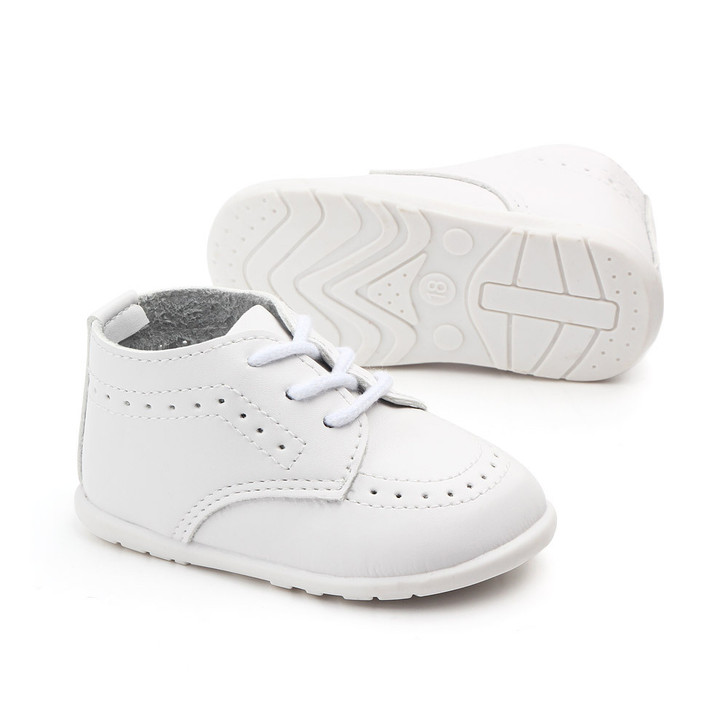 Baby White Oxford Classic Formal Shoes