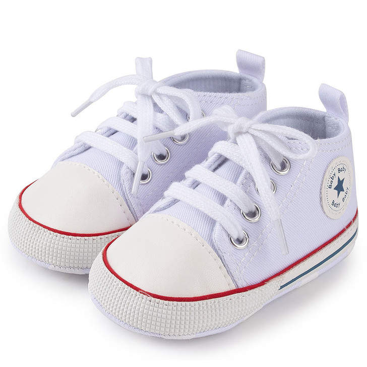 White First Walkers Baby Shoes Sneaker