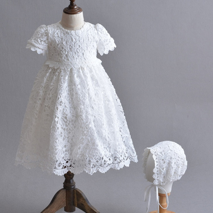 Baptism Gowns Girls Hollow