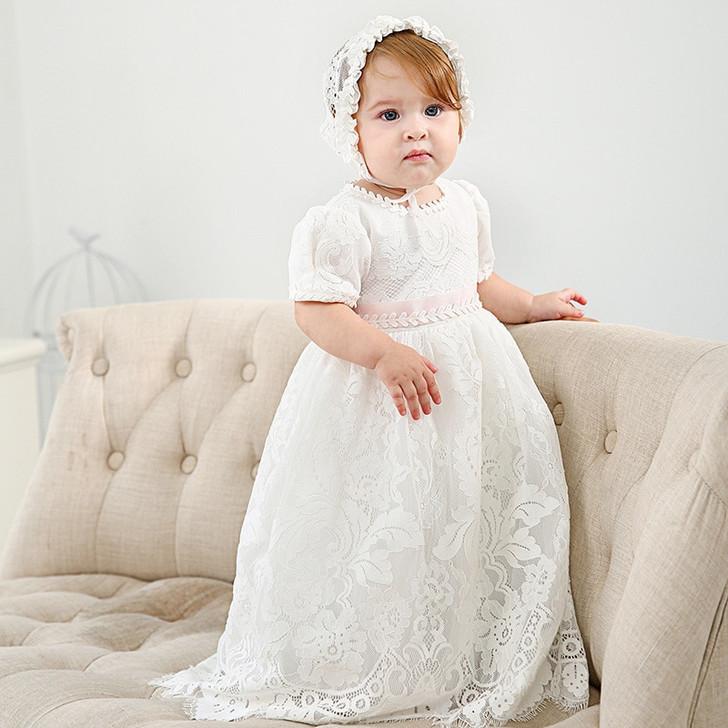 Extended Baptismal Christening Gown