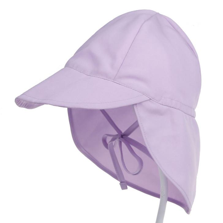 UPF50 Breathable Baby Newborn Purple Sun Hat