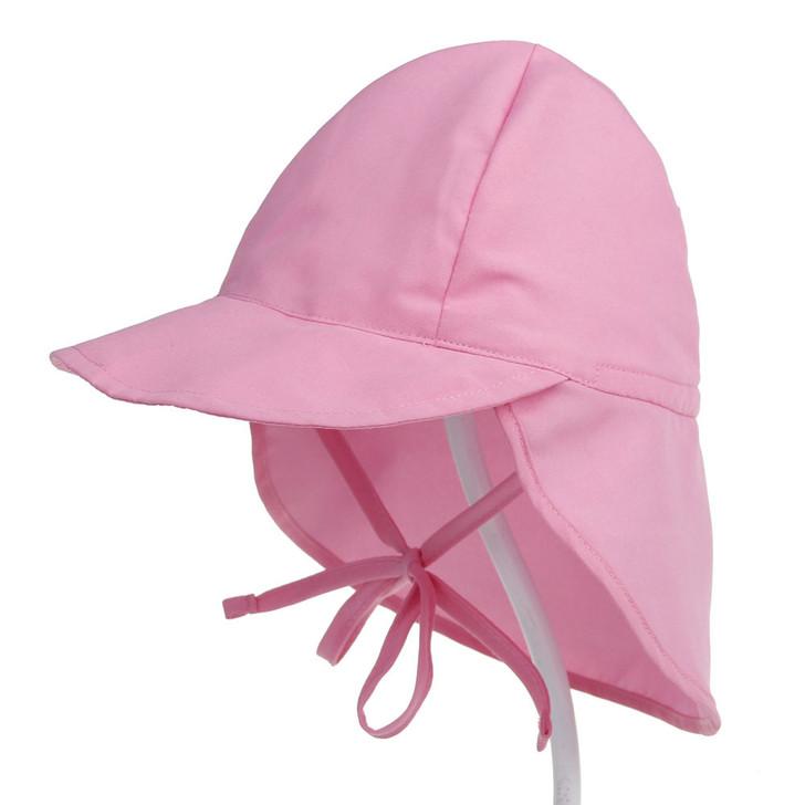 UPF50 Breathable Baby Newborn Pink Sun Hat