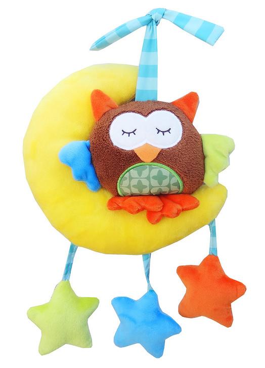 Baby Stroller Owl Music Box